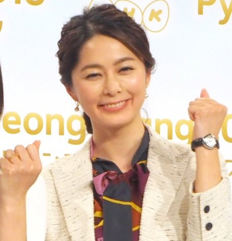 NHK平昌オリンピックのキャスターに決まった杉浦友紀アナ (C)ORICON NewS inc.