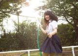 長濱ねる1st写真集『ここから』裏表紙(撮影/細居幸次郎)
