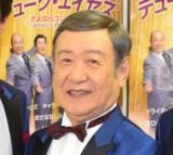 ラストコンサートの公演前囲み取材に出席したデューク・エイセス・谷道夫 (C)ORICON NewS inc.