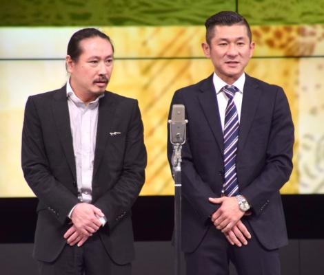 『RE-OPEN』記念特別公演に出演した笑い飯 (C)ORICON NewS inc.