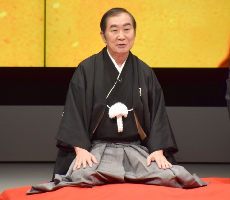 『RE-OPEN』記念特別公演で口上を行った桂文枝 (C)ORICON NewS inc.