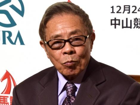 『第62回有馬記念(G1)』の公開枠順抽選会に参加した北島三郎(C)ORICON NewS inc.