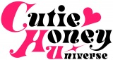 『Cutie Honey Universe』のタイトルロゴ(C)Go Nagai/Dynamic Planing-Project CHU