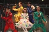 『ギア-GEAR-』East Versionのゲネプロを行ったでんぱ組.inc・藤咲彩音(中央)