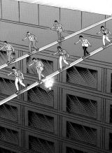 原作漫画『カイジ』の「鉄鋼渡り」 (C)福本伸行/講談社