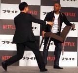 Netflixオリジナル映画『ブライト』来日記者会見に出席したウィル・スミス (C)ORICON NewS inc.