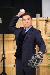 『新春しゃべくり 007SP!』に登場しメンバーとキャッチボールをした田中将大投手(C)日本テレビ