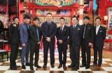 『新春しゃべくり 007SP!』に出演する田中将大投手(中央)(C)日本テレビ