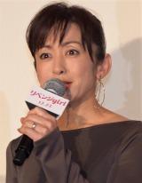 映画『リベンジgirl』初日舞台あいさつに出席した斉藤由貴 (C)ORICON NewS inc.