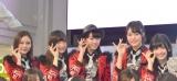ラストアイドルの1stシングル「バンドワゴン」リリースイベントに出席したGood Tears (C)ORICON NewS inc.