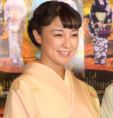 NHK・BSプレミアム『平成細雪』の試写会&取材会に参加した伊藤歩 (C)ORICON NewS inc.