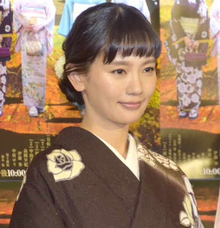 NHK・BSプレミアム『平成細雪』の試写会&取材会に参加した中村ゆり (C)ORICON NewS inc.