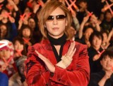 『「WE ARE X」'mas上映会』後のトークショーに出席したYOSHIKI (C)ORICON NewS inc.