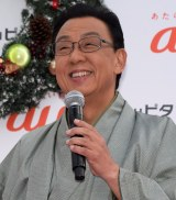 『auピタットキャラバン スペシャルX'masステージ』に登場した梅沢富美男 (C)ORICON NewS inc.