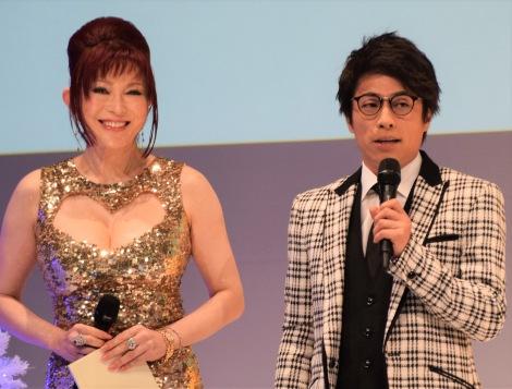 『#Twitterトレンド大賞』発表イベントMCを務めた(左から)叶美香、田村淳 (C)ORICON NewS inc.