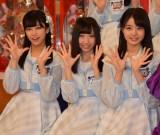 (左から)磯貝花音、薮下楓、瀧野由美子 (C)ORICON NewS inc.