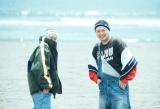 年越しカウントダウンライブ『ももいろ歌合戦』に出演するサイプレス上野とロベルト吉野