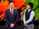大阪・なんばグランド花月で仕事復帰した藤崎マーケットの田崎佑一(左)と相方のトキ