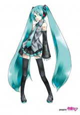 初音ミクillustration by KEI (C) Crypton Future Media, INC. www.piapro.net