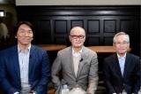 松井秀喜氏(左)、長嶋氏の大学時代の2年先輩である宗野徳太郎さん(右)にも話を聞く(C)テレビ朝日