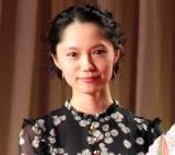 『第30回日刊スポーツ映画大賞』の授賞式に出席した宮崎あおい