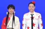 TBS年末特番『朝まであらびき団SP あら1グランプリ2017』の囲み取材に出席した(左から)藤井隆、東野幸治 (C)ORICON NewS inc.