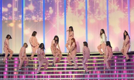『第68回NHK紅白歌合戦』のリハーサルに参加したE-girls (C)ORICON NewS inc.