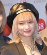『第68回NHK紅白歌合戦』のリハーサルに参加したE-girls・YURINO (C)ORICON NewS inc.