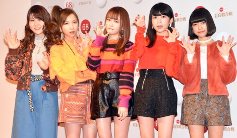 『第68回NHK紅白歌合戦』のリハーサルに参加したLittle Glee Monster(左から)かれん、MAYU、芹奈、manaka、アサヒ (C)ORICON NewS inc.