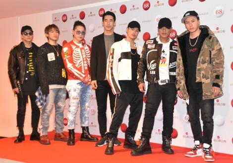 『第68回NHK紅白歌合戦』のリハーサルに参加した三代目 J Soul Brothers