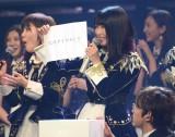 3位に「大声ダイヤモンド」を引いた横山由依=『第68回NHK紅白歌合戦』のリハーサルに参加したAKB48 (C)ORICON NewS inc.