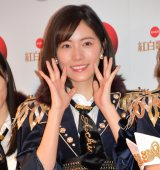 『第68回NHK紅白歌合戦』のリハーサルに参加した松井珠理奈 (C)ORICON NewS inc.