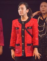 『第68回NHK紅白歌合戦』のリハーサルに参加した大阪府立登美丘高校ダンス部・伊原六花 (C)ORICON NewS inc.