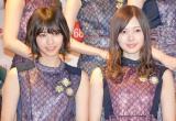 乃木坂46(左から)西野七瀬、白石麻衣 (C)ORICON NewS inc.