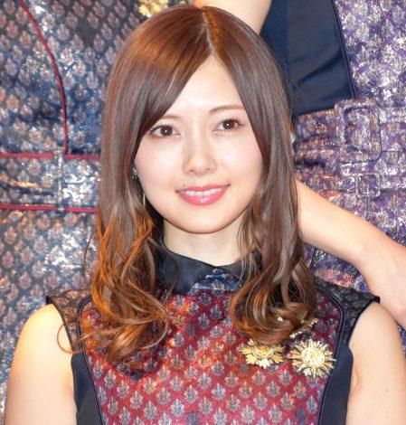 『第68回NHK紅白歌合戦』のリハーサルに参加した乃木坂46・白石麻衣 (C)ORICON NewS inc.