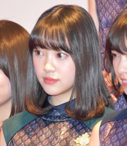 『第68回NHK紅白歌合戦』のリハーサルに参加した乃木坂46・堀未央奈 (C)ORICON NewS inc.