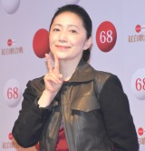 『第68回NHK紅白歌合戦』のリハーサルに参加した石川さゆり (C)ORICON NewS inc.