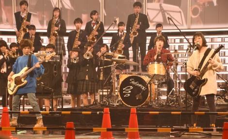 『第68回NHK紅白歌合戦』のリハーサルに参加したSHISHAMO (C)ORICON NewS inc.