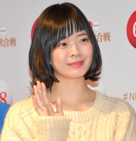 『第68回NHK紅白歌合戦』のリハーサルに参加したSHISHAMO・宮崎朝子 (C)ORICON NewS inc.