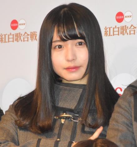 『第68回NHK紅白歌合戦』のリハーサルに参加した欅坂46・長濱ねる (C)ORICON NewS inc.