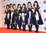 AKB48(左から)横山由依、柏木由紀、指原莉乃、渡辺麻友、山本彩、松井珠理奈、宮脇咲良 (C)ORICON NewS inc.