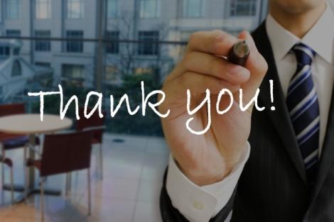 """ビジネスシーンで使える、""""感謝""""を伝える英語フレーズ(写真はイメージ)"""
