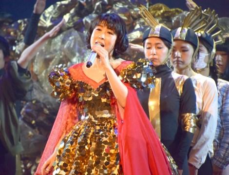『第68回NHK紅白歌合戦』のリハーサルに参加した水森かおり (C)ORICON NewS inc.