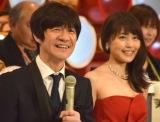『第68回NHK紅白歌合戦』リハーサル3日目に参加した(左から)内村光良、有村架純 (C)ORICON NewS inc.