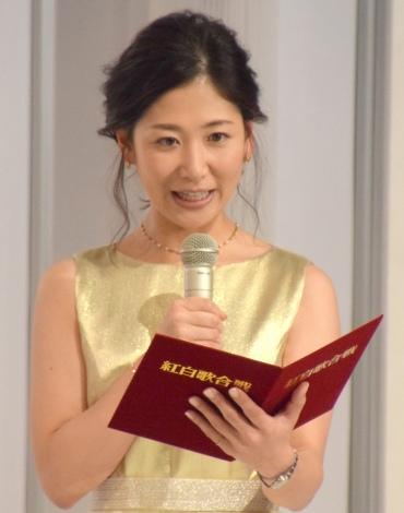 『第68回NHK紅白歌合戦』リハーサル3日目に参加した桑子真帆アナウンサー (C)ORICON NewS inc.