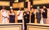 朝青龍(中央)の対戦相手(左から)リダ・ハイサム・アイザック、清家拓也、ボブ・サップ、久保昌弘、スーパー・ササダンゴマシン、徳原靖也 (C)AbemaTV