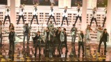 『第68回NHK紅白歌合戦』で「HAPPY〜紅白スペシャルバージョン〜」を披露した三代目 J Soul Brothers (C)ORICON NewS inc.