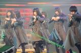 「不協和音」を披露する欅坂46 (C)ORICON NewS inc.