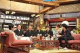 1月2日放送、カンテレ・フジテレビ系お正月特番『新春大売り出し!さんまのまんま』収録中のカット(C)カンテレ