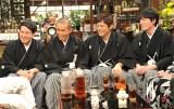 1月2日放送、カンテレ・フジテレビ系お正月特番『新春大売り出し!さんまのまんま』(左から)タカアンドトシ、博多華丸・大吉(C)カンテレ